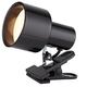 Black 6 inch High Mini Accent 60 Watt Clip Light
