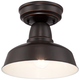 Urban Barn Collection 10 1/4 inch Wide Bronze Outdoor Ceiling Light