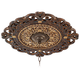 Zaragoza Golden Bronze 24 inch Wide Ceiling Medallion