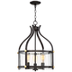 Lewisburg 3-Light 19 inch Wide Bronze Pendant Light