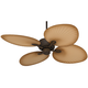 52 inch Casa Vieja Aerostat Wide Palm Outdoor Ceiling Fan