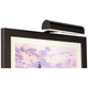 Slimline Black 8 inch Wide Cordless LED Picture Light