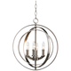 Equinox Collection Silver 16 inch Wide Pendant Light