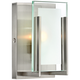 Hinkley Latitude 5 inch Wide Brushed Nickel Wall Sconce