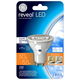GE Reveal 5.5 Watt GU10 Dimmable LED Light Bulb
