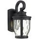 Merrimack 12 1/4 inch High Black LED Outdoor Wall Light