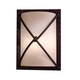 Aspen II 12 3/4 inch High Outdoor Wall Light