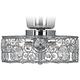 Possini Euro Design Crystal 10 inch Round Ceiling Fan Light Kit
