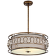 Orlinda 21 1/2 inch Wide Russet Bronze Pendant Light