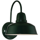 Urban Barn Collection 13 inch High Green Outdoor Wall Light