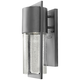 Hinkley Shelter 15 1/2 inch High LED Hematite Outdoor Wall Light