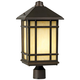 Jardin du Jour 18 inch High Mission Hills Outdoor Post Light