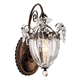 Schonbek Bagatelle Collection 13 inch High Crystal Wall Sconce