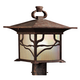 Kichler Distressed Copper 15 inch High Outdoor Post Light