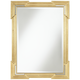 Farrell Gold 30 inch x 40 inch Beveled Wall Mirror