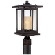 Foxmoore Collection 17 inch High Bronze Outdoor Post Light