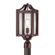 Rockford Collection 20 1/4 inch High Bronze Outdoor Post Light