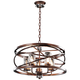 Eternity Etruscan Bronze 24 inch Wide 5-Light Chandelier