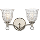 Savoy House Birone 16 inch Wide 2-Light Polished Nickel Bath Light