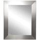 Ailey Silver Wide 39 1/2 inch x 45 1/2 inch Wall Mirror