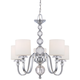 Downtown Collection 28 inch Wide 5 Light Chandelier