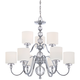 Downtown Collection 9 Light 36 inch Wide Chandelier