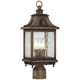 Wilshire Park 18 3/4 inch High Bronze Outdoor Post Light