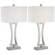 Roxie Modern Metal Table Lamp Set of 2