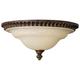 Feiss Edwardian 13 inch Diameter Flushmount Ceiling Fixture
