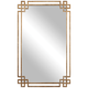 Devoll Gold 23 inch x 36 3/4 inch Rectangle Wall Mirror