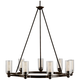 Circolo Collection Olde Bronze 36 inch Wide Chandelier
