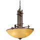 Metro Collection Four Light Pendant Chandelier