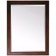 Avanity Madison Tobacco 24 inch x 32 inch Rectangular Wall Mirror