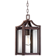 Rockford Collection 17 inch High Bronze Outdoor Hanging Light