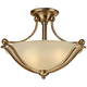 Hinkley Bolla 19 1/4 inch Wide Brushed Bronze Ceiling Light