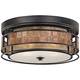 Quoizel Laguna 12 inch Wide Renaissance Copper Ceiling Light