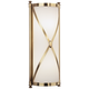 Robert Abbey Drexel 16 3/8 inch High Brass ADA Wall Sconce