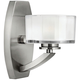 Hinkley Meridian 8 inch High Brushed Nickel LED Wall Sconce