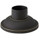 Pier Mount Fitter - Smooth Base in Oil-Rubbed Bronze