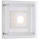 Reese 8 inch Wide Glass LED Wall Sconce