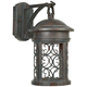Ellington 16 1/4 inch High Aged Mediterranean Outdoor Wall Light