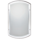 Quoizel Breckenridge BN 21 inch x 35 inch Wall Mirror