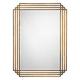 Jamie Young Serai Brass 32 inch x 44 inch Wall Mirror