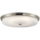 Kichler Jefferson 24 inch Wide Brushed Nickel LED Ceiling Light