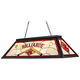 Billiards Red Tiffany-Style 44 inch Wide Pool Table Chandelier