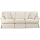 Rachel Classic 87 inch Wide Natural Slipcover Sofa