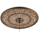 Aged Verona 24 inch Giclee Bronze Ceiling Medallion