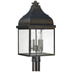 Capital Westridge 22 3/4 inch High Old Bronze Outdoor Post Light