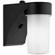 Eltham Black 7 1/2 inch High Dusk-to-Dawn Outdoor Wall Light