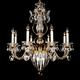 Schonbek Bagatelle 26 inch Wide Heirloom Gold Crystal Chandelier